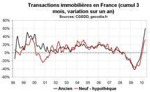 Transactions immobilières en France en mai 2010 : fragilité derrière la flambée ?