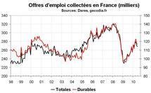 Nombre de chômeurs en France en juin 2010 : pas d'amélioration