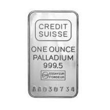 Graphique cours du Palladium XPD/USD