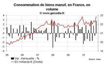 Consommation des ménages France novembre 2010 : l'automobile donne toujours le ton