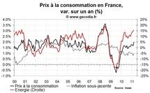 Inflation en France mars 2011 : les matières premières restent au cœur de la hausse